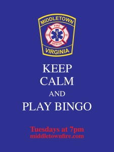 Keep Calm and Play Bingo